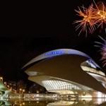 Vive la Nit del Foc 2019 desde los balcones del Palau de les Arts
