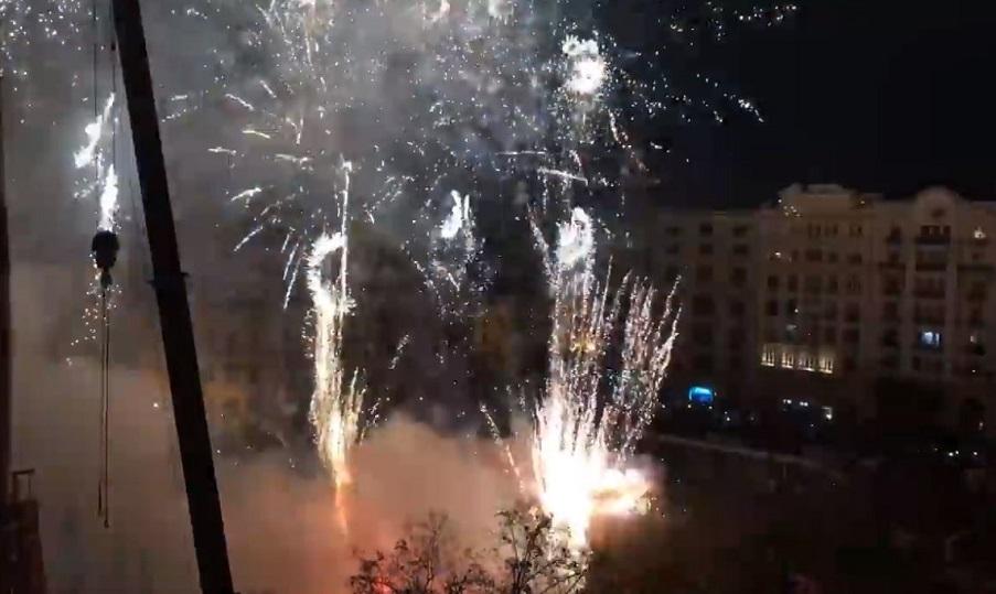 Gran Mascletà nocturna de colores el próximo sábado en la plaza del Ayuntamiento de Valencia
