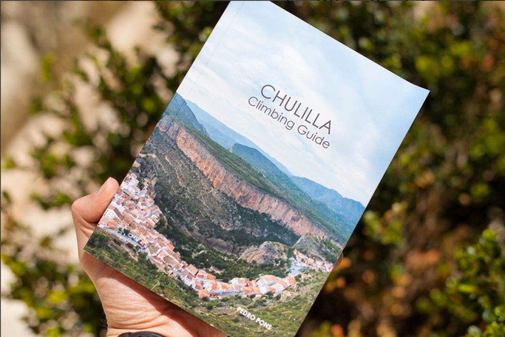 Nueva guía de escalada de Chulilla