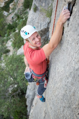Robert climbing with us in Jerica (Sep. 2018).