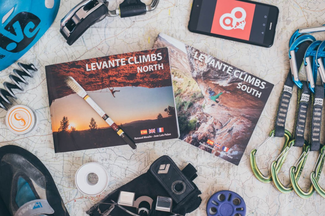 Levante Climbs, new climbing guidebook.