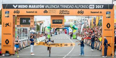27 October - Valencia Half Marathon