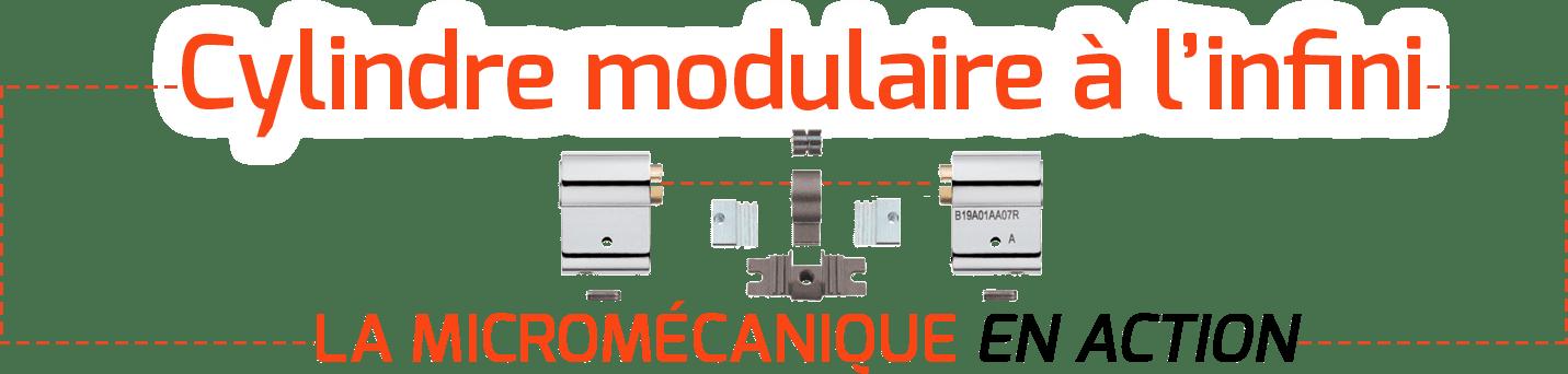 cylindre modulaire à l'infini