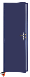 Porte blindée - l'utile 2 faces