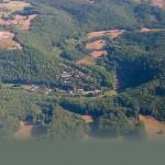 luchtfoto Valentheze