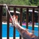 hangmat zwembad