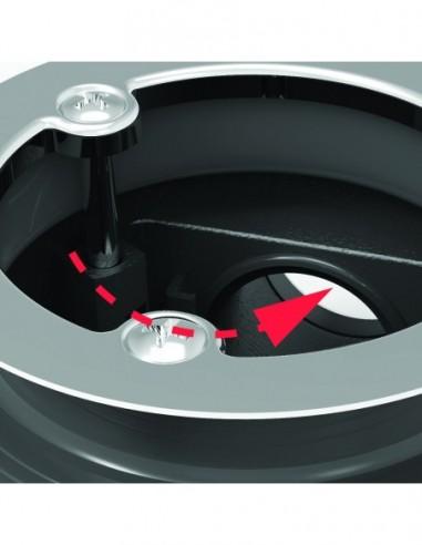 bonde minime pour receveur de douche d 90 mm extra plate capot abs d 116 mm h 60 mm chrome