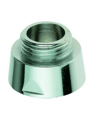 adapteur pour flexible de douche 3 4 x 1 2 abs chrome