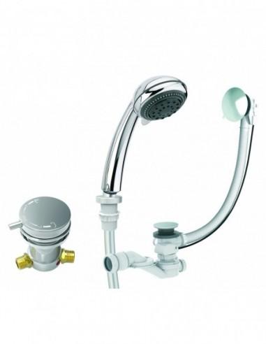 equipement pour baignoire comodo robinetterie vidage douchette et flexibles
