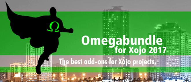 Omegabundle for Xojo 2017 Dev Tools Bundle Released