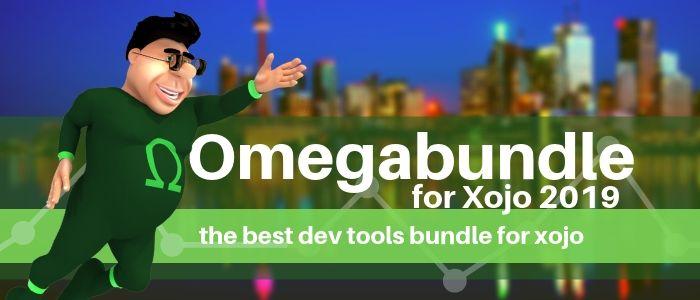 Omegabundle for Xojo 2019 Developer Tools Bundle Announced