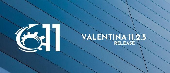 Valentina 11.2.5 Improves MS SQL Server tools, ValentinaDB, Xojo Deployment