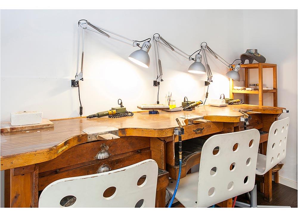 Noleggio laboratorio di gioielli coworking