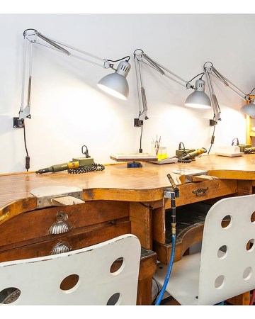 Alquiler coworking taller de joyería