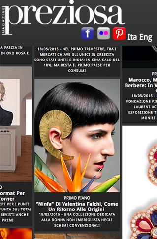 Preziosa Magazine Valentina Falchi joyas