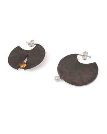 joyas de diseño pendientes plata