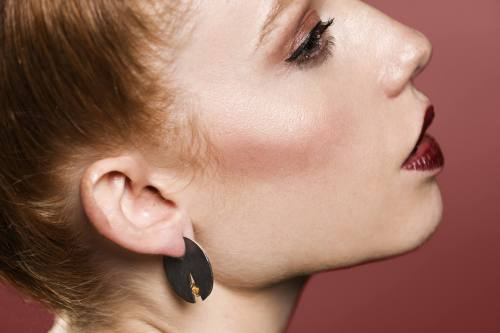 My Dot Twin collection by Valentina Falchi artistic jewellery