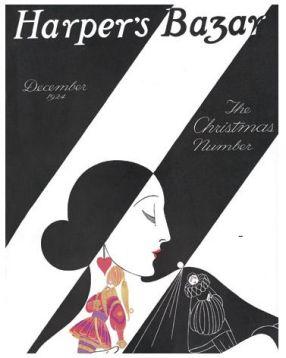 Esté portada Harper's Bazar 1924