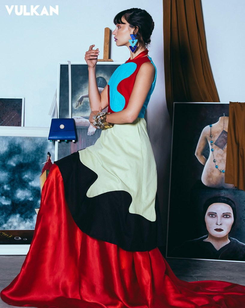 Valentina Falchi jewellery Vulkan