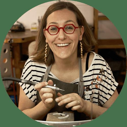 Jewellery designer Valentina Falchi portrait