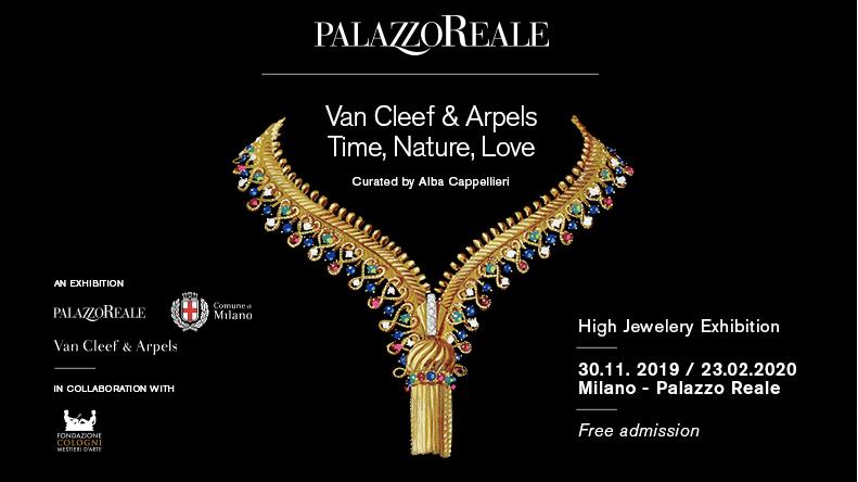 Van Cleef & Arpels. Exposición Milán 2020