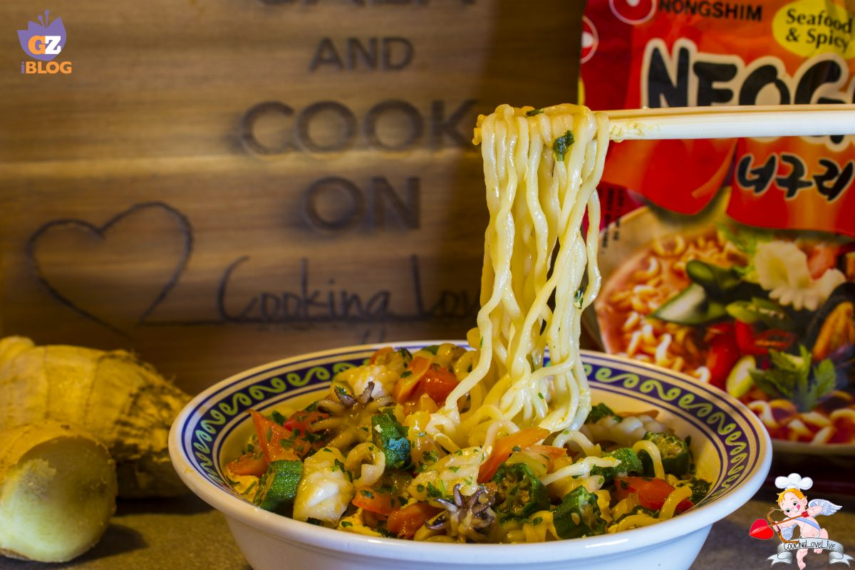 "Noodles ""MinJun Spicy"""