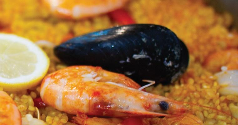 Paella de marisco ( ricetta con foto passo passo )