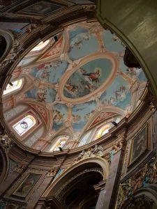 interno di una chiesa a Mdina