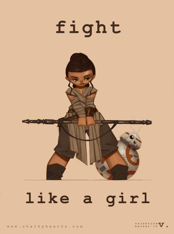 0085 Fight Like A Girl