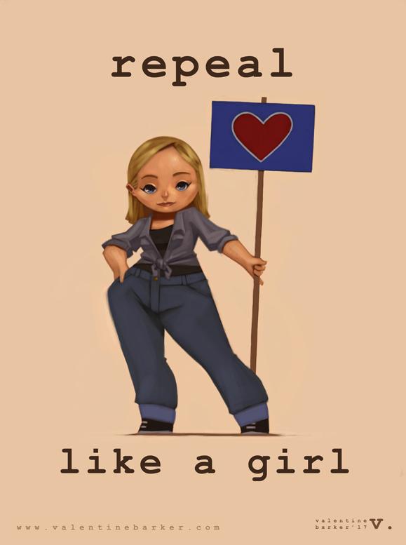 Repeal Like a Girl