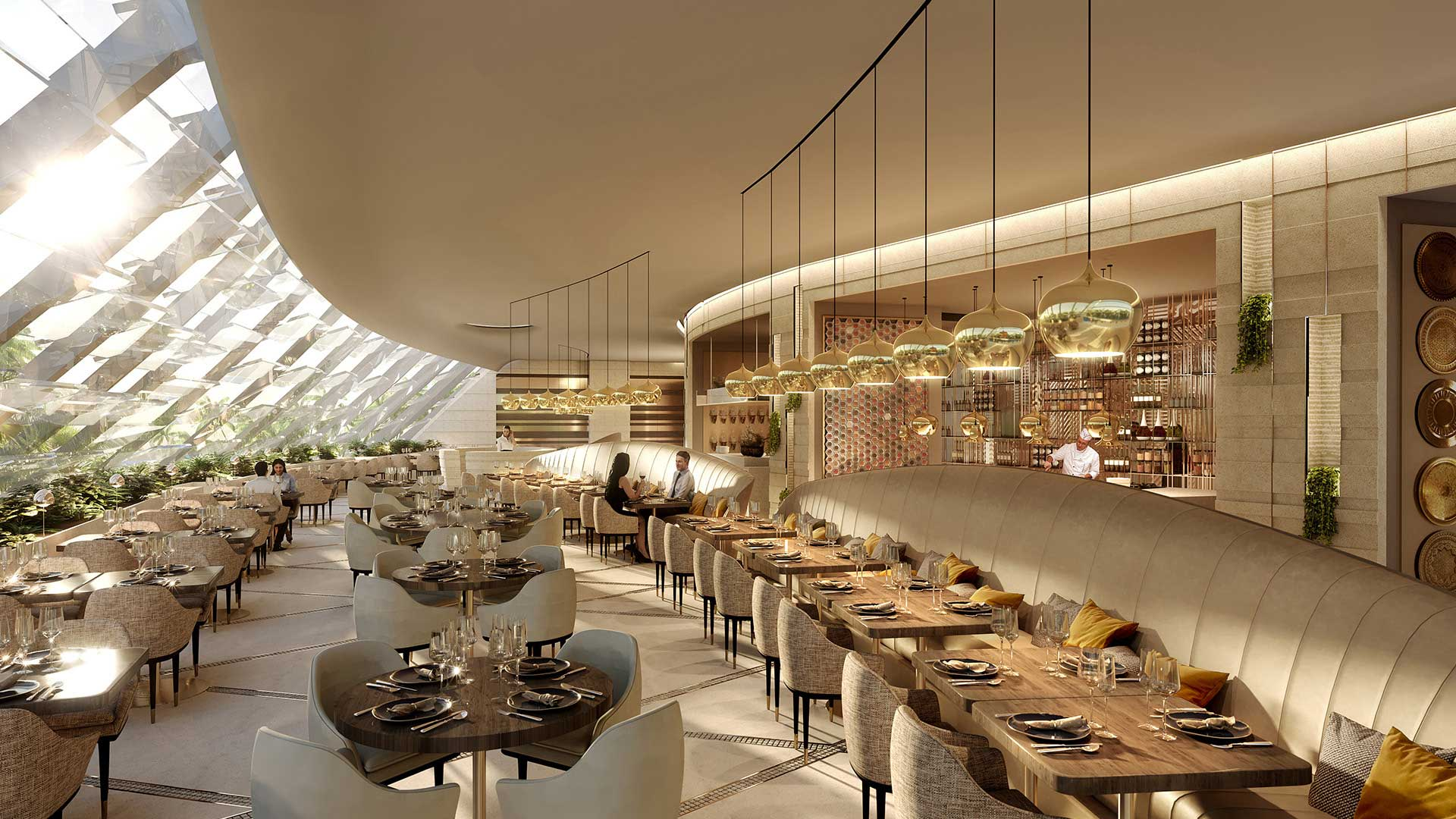 3D Photo Perspective Restaurant Studio 3D Creation