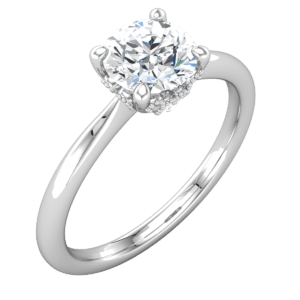 Vintage Solitaire Engagement Rings