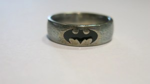 Top batman wedding rings