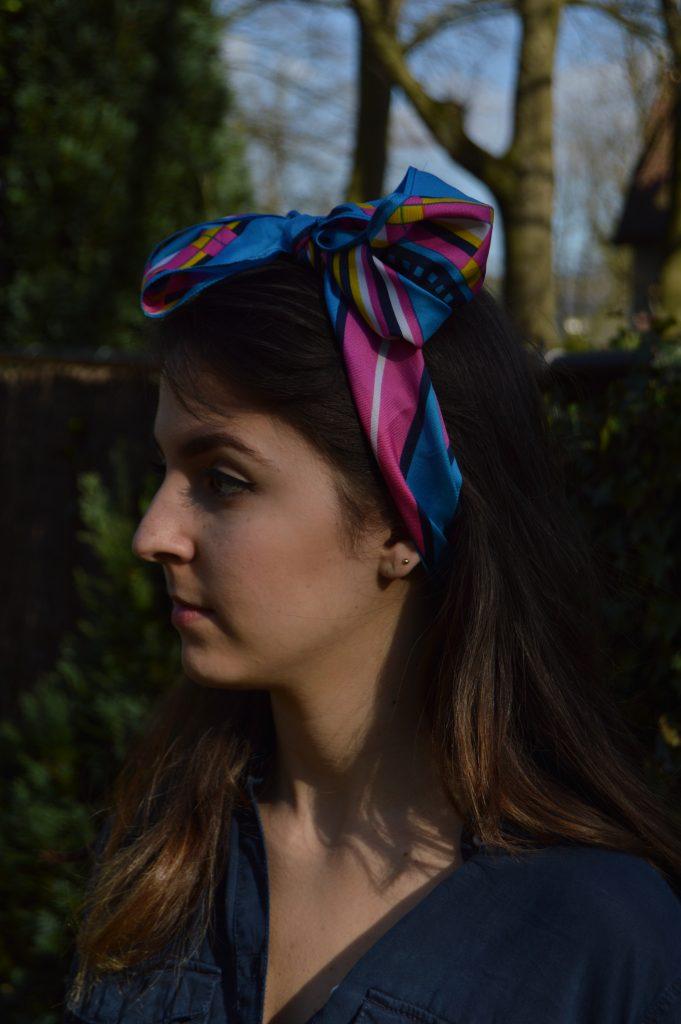 Bandana Hair Spring Trend