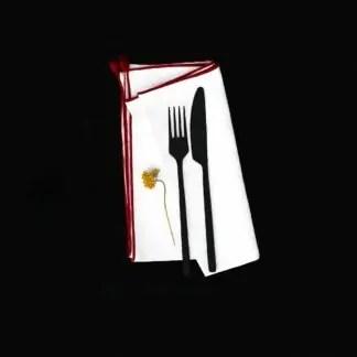 linge de table lt01 nil carmin