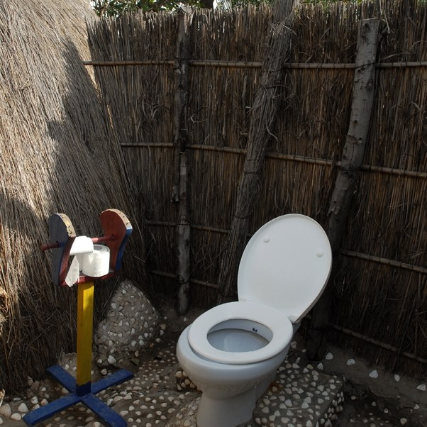 King toilette au Sine Saloum, Sénégal