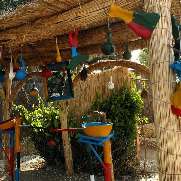 Village du Sine Saloum, quelques idées déco, Sénégal