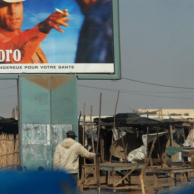 Dakar affichage publicitaire