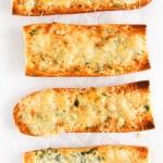 Basil Parmesan Garlic Bread
