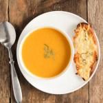 buternut squash soup