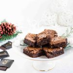 decadent chocolate mint brownies