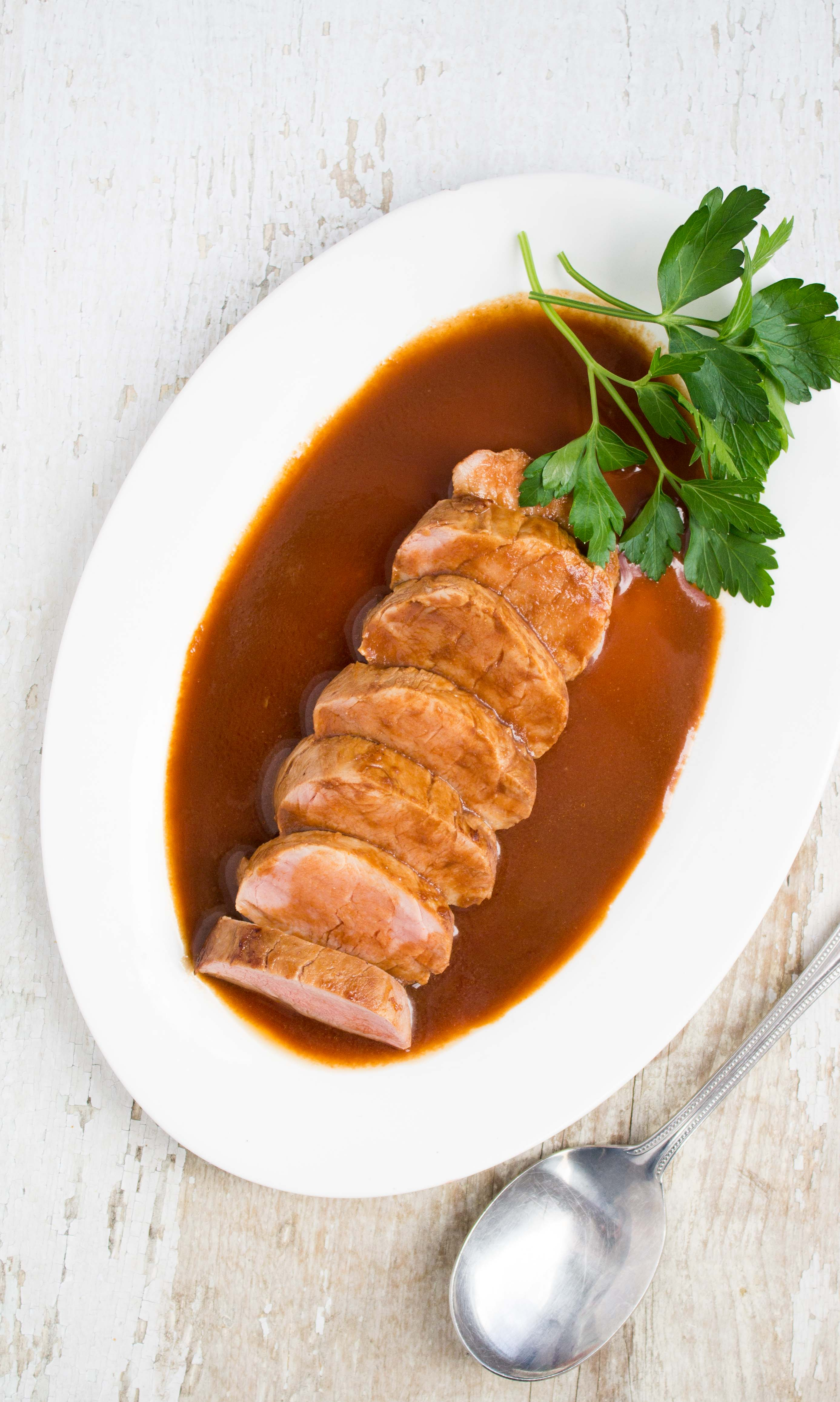 ginger pork tenderloin