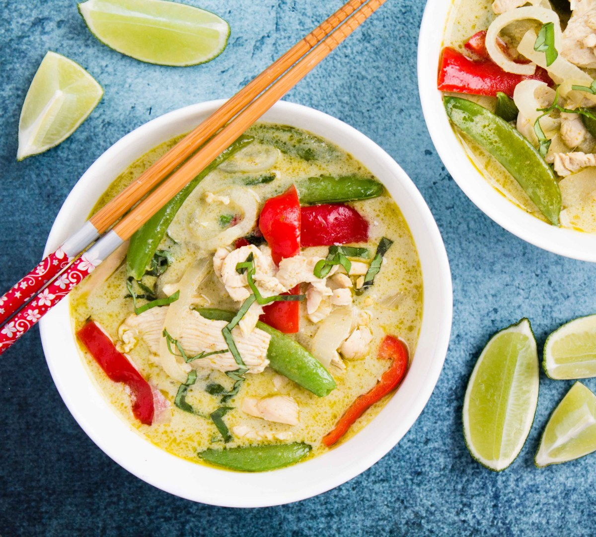 Thai Green Curry Chicken (20-minute)