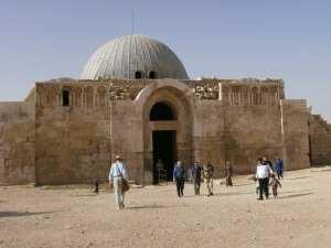 Umayyad palace at Amman