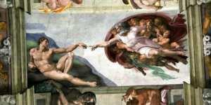 God & Adam - creation