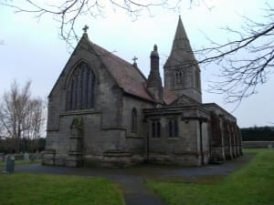 St. Peter's Helperthorpe twilignt