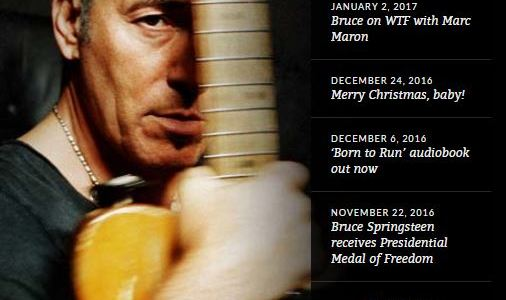 """brucespringsteen.net / Monmouth University presents """"A Conversation with Bruce Springsteen"""""""