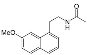 agomelatina-struttura