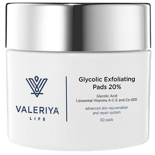 Glycolic Exfoliating Pads 20%