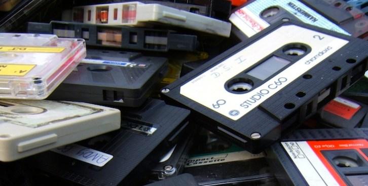 Discogs cassettes